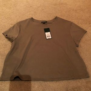 Wild Fable Cropped Green T-shirt